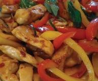 רז קל חזה עוף מוקפץ עם ירקות בנוסח סיני