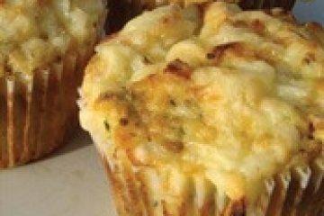 מאפינס עם גבינה בולגרית ועשבי תיבול